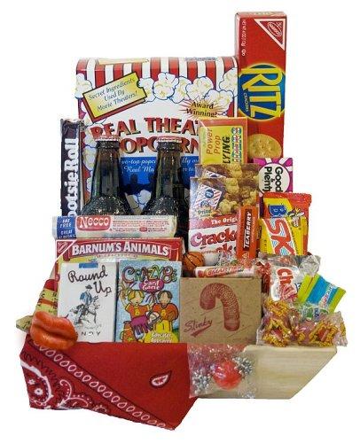 'Sweet Nostalgia Birthday Gift Basket