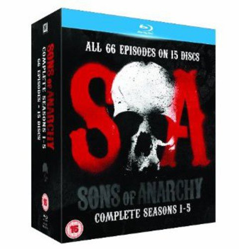 Sons of Anarchy-Seasons 1-5 [Blu-ray] (Of Bad Sons Anarchy Breaking)