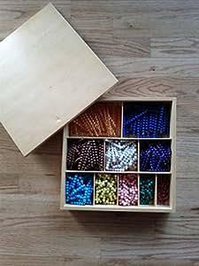 Montessori Decanomial Bead Bar Box