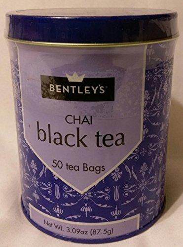 Bentleys Finest Tea - Bentleys Chai Black Tea, 50 Tea Bags