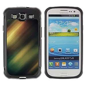 "Pulsar iFace Series Tpu silicona Carcasa Funda Case para Samsung Galaxy S3 III I9300 , Borealis Sky Night Lights Verde"""