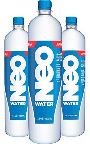 NEO Water - 9.5pH Alkaline, Electrolyte, Antioxidant Water 20 OZ ...