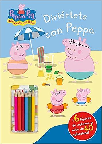 Caja de eBooks: Diviértete con Peppa (Peppa Pig. Actividades): (Incluye lápices de colores y adhesivos) 8401902835 PDF