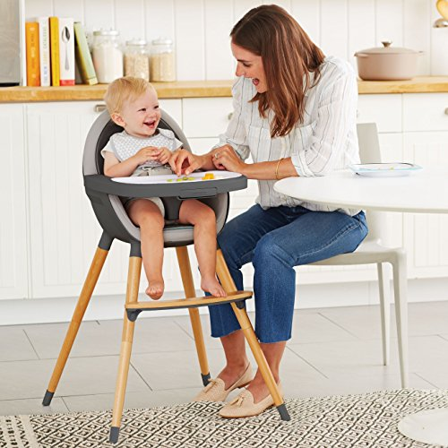 Skip Hop Tuo Convertible High Chair, Charcoal Grey by Skip Hop (Image #2)