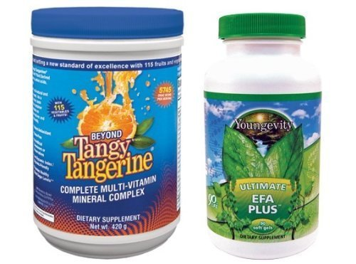 International Shipping  Youngevity Btt Basic 90 Pak Beyond Tangy Tangerine Ultimate Efa Plus By Youngevity