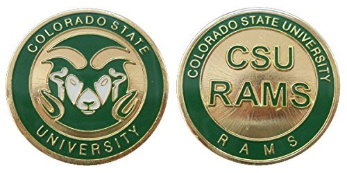 Collectible Challenge Coin- Logo Poker - Lucky Chip for Colorado State University Colorado State University Starter