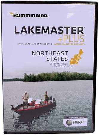 Humminbird LakeMaster Chart NorthEast States PLUS - MicroSD ...