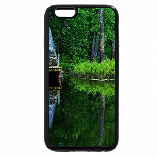 iPhone 6S / iPhone 6 Case (Black) Watermill at Lake