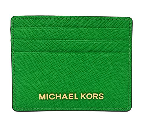 eac94a300614c Michael Kors Jet Set Travel Credit Card Holder Case in Palm