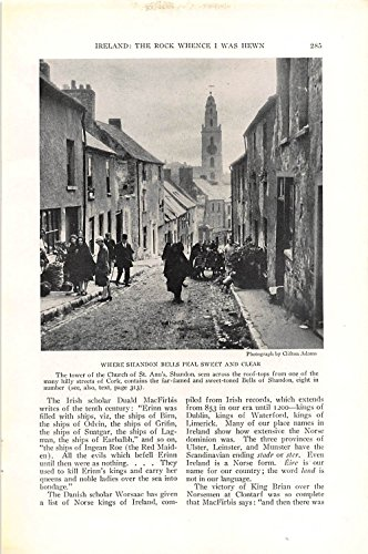 Print Ad 1927 Where Shandon Bells Peal Sweet And Clear ()