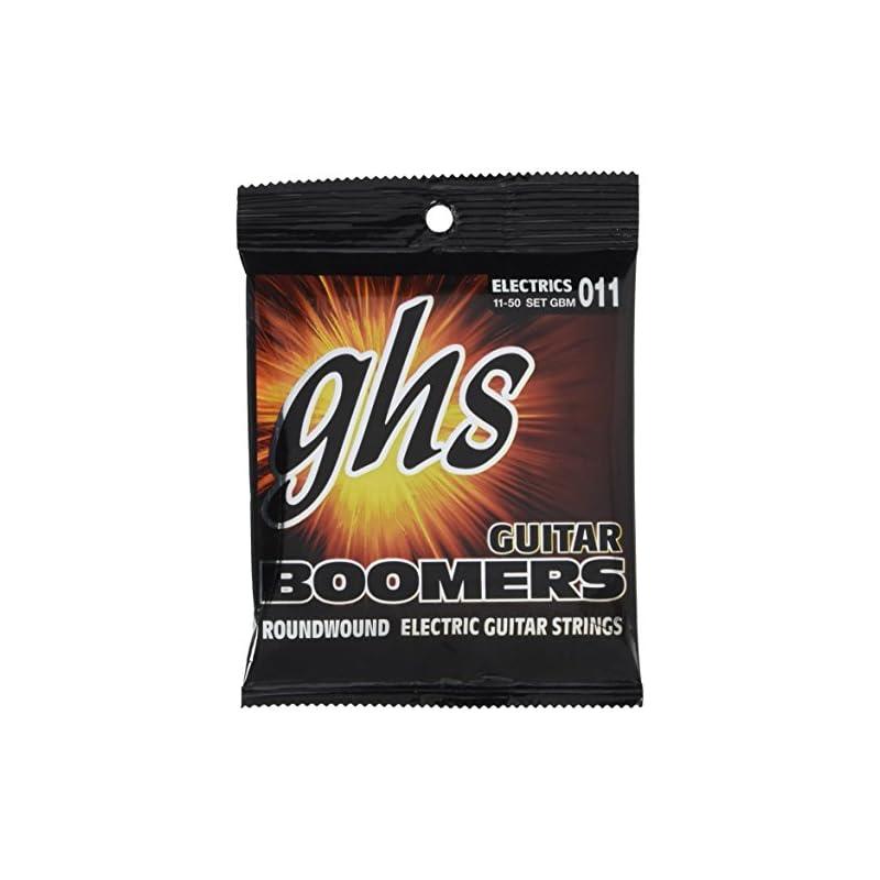 GHS Strings GBM Guitar Boomers, Nickel-P