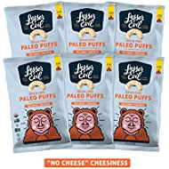 """LesserEvil Grain Free Paleo Puffs, """"No Cheese"""" Cheesiness, 5 Ounce, 6 Count"""