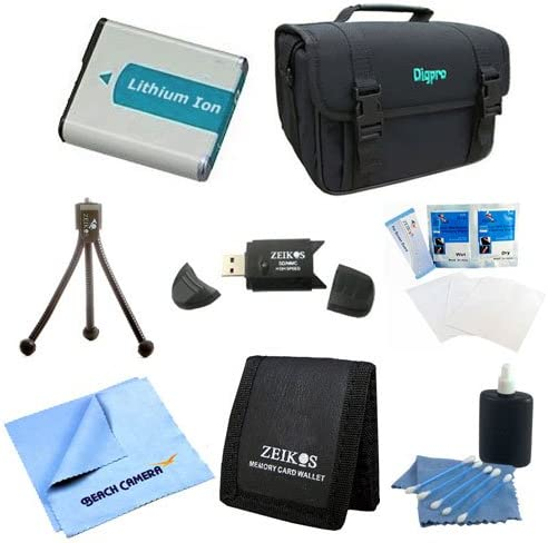 Cleaning Kit Screen Protectors for Nikon CoolPix P510 P520 P530 P500 P90 P100 P6000 Micro Fiber Cloth EN-EL5 Battery Kit Memory Card Wallet Table-top Tripod Deluxe Case USB 2.0 Card Reader