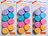 Year Supply of Contact Lens Cases - Healthy & Sanitary Storage for Soft, RGP, Scleral, CRT and Hard Lenses