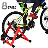 HEALTH LINE PRODUCT Indoor Cycle Trainer, Noise Reduction Super Quiet...