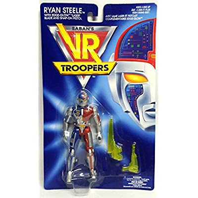 Vr Troopers Ryan Steele Action Figure: Toys & Games