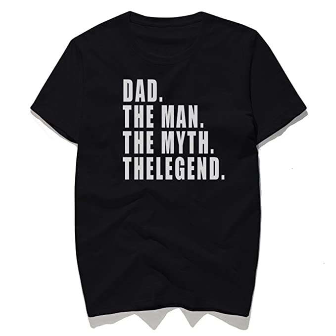 acd5664b Image Unavailable. Image not available for. Color: Rocksir Dad Is Legend  Funny T-Shirts Mens ...
