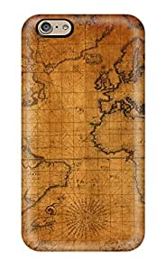 Fashion VtJnRWI4084IyCWd Case Cover For Iphone 6(map)