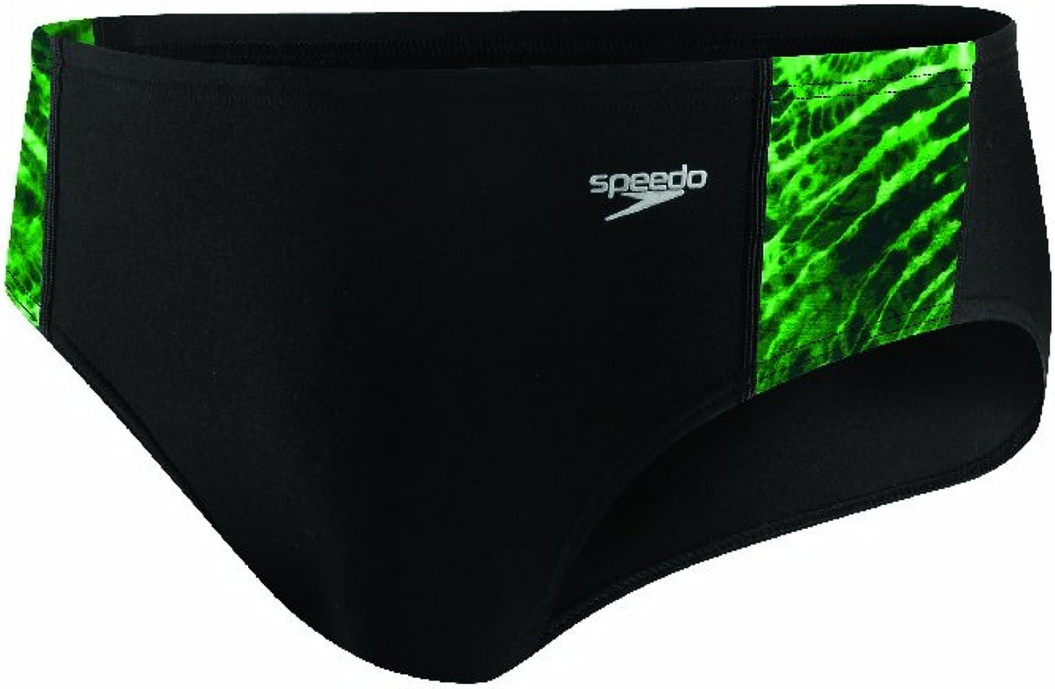 Toxic Tie Dye Brief Swimsuit Speedo Mens Endurance