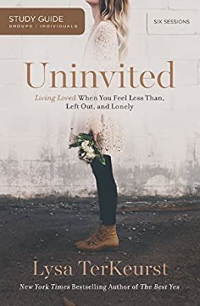 Uninvited study guide living loved when you feel less than left print list price 1299 fandeluxe Gallery