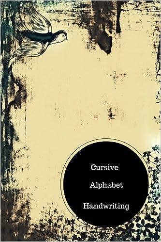 Cursive Alphabet Book Cursive Handwriting Patterns Worksheets