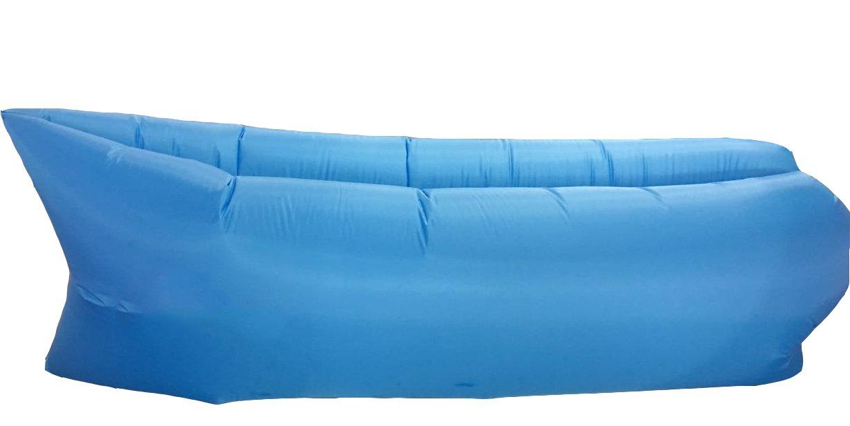 Sofá cama de aire bolsa de dormir de festival Camping Viaje Hinchable Lazy tumbona, verde: Amazon.es: Deportes y aire libre