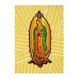 5' x 7' Area Rug Virgen de Guadalupe