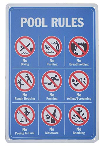 Top Pool Signs
