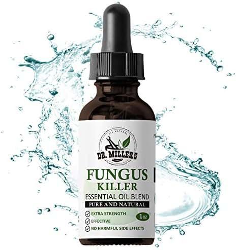 Dr Miller's Fungus Killer - Premium Toenail Fungus Treatment, Foot & Nail Fungus - 1 FL OZ 30ML