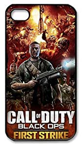 LZHCASE Personalized Protective Case for iphone 4 - Game Call of Duty Black Ops First Strike
