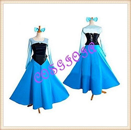 Cosplay Disney Little Mermaid Ariel Triton Cosplay Costume woman Size M