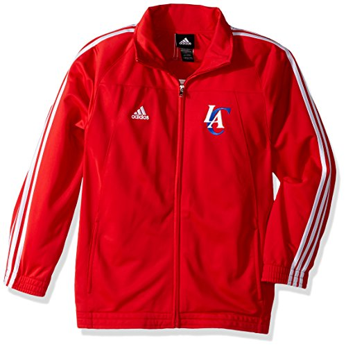 Adidas Nba Track Jacket - adidas Los Angeles Clippers NBA Basketball Youth Track Jacket, Red (Small (8))