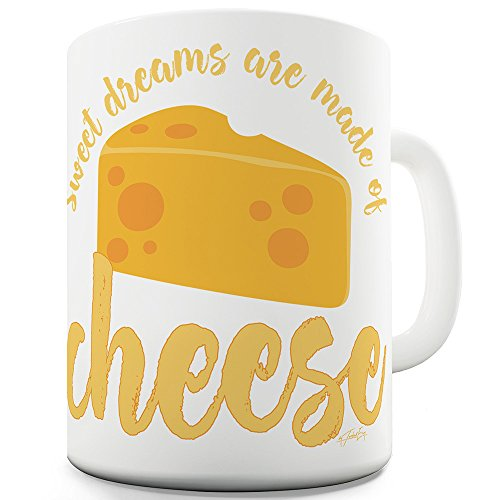 Dreams Are Made Of Cheese 11 OZ Funny Office Secret Santa gift ()