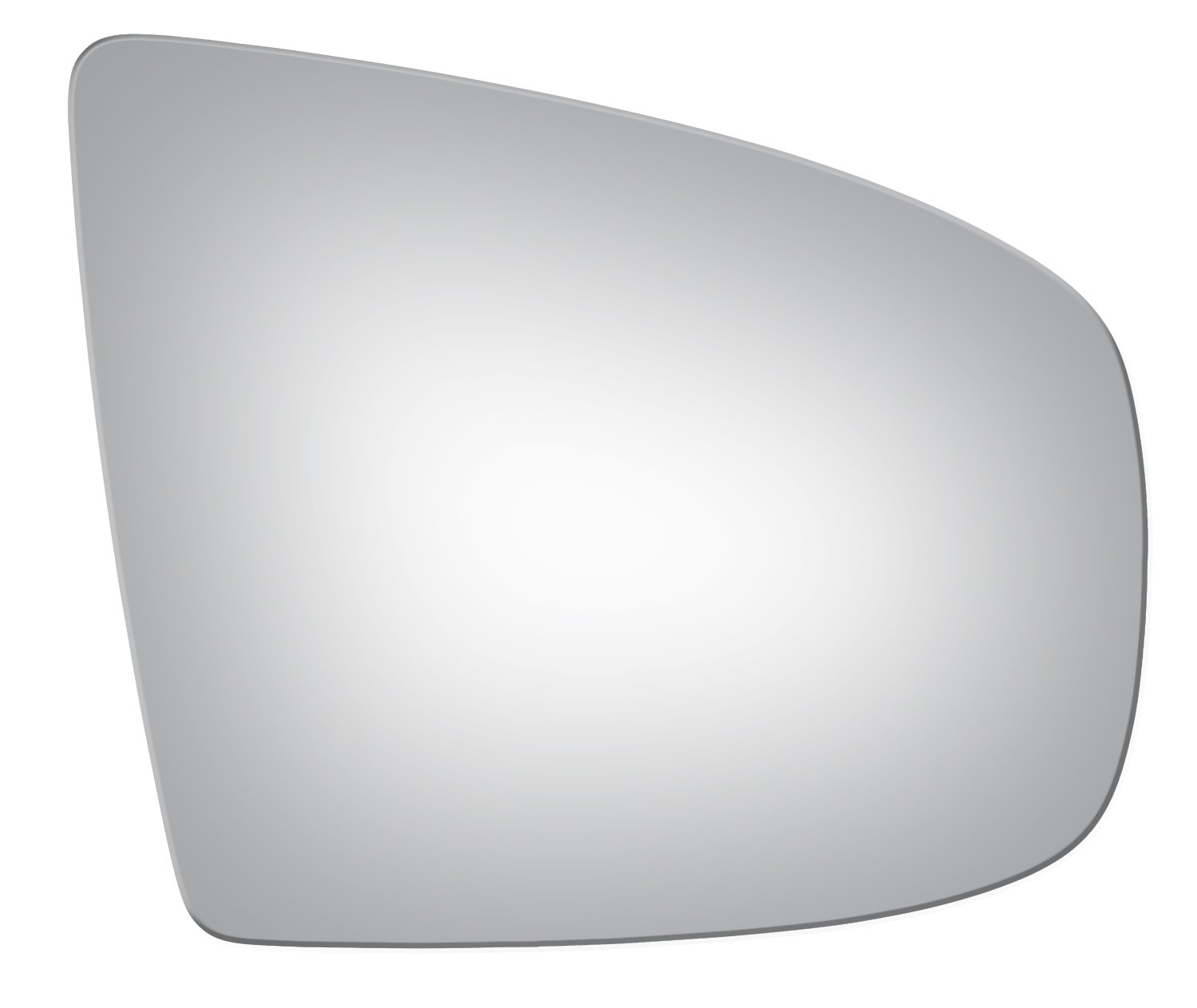 2007-2013 BMW X5, 2008-2014 BMW X6 Convex Passenger Side Power Replacement Mirror Glass Burco