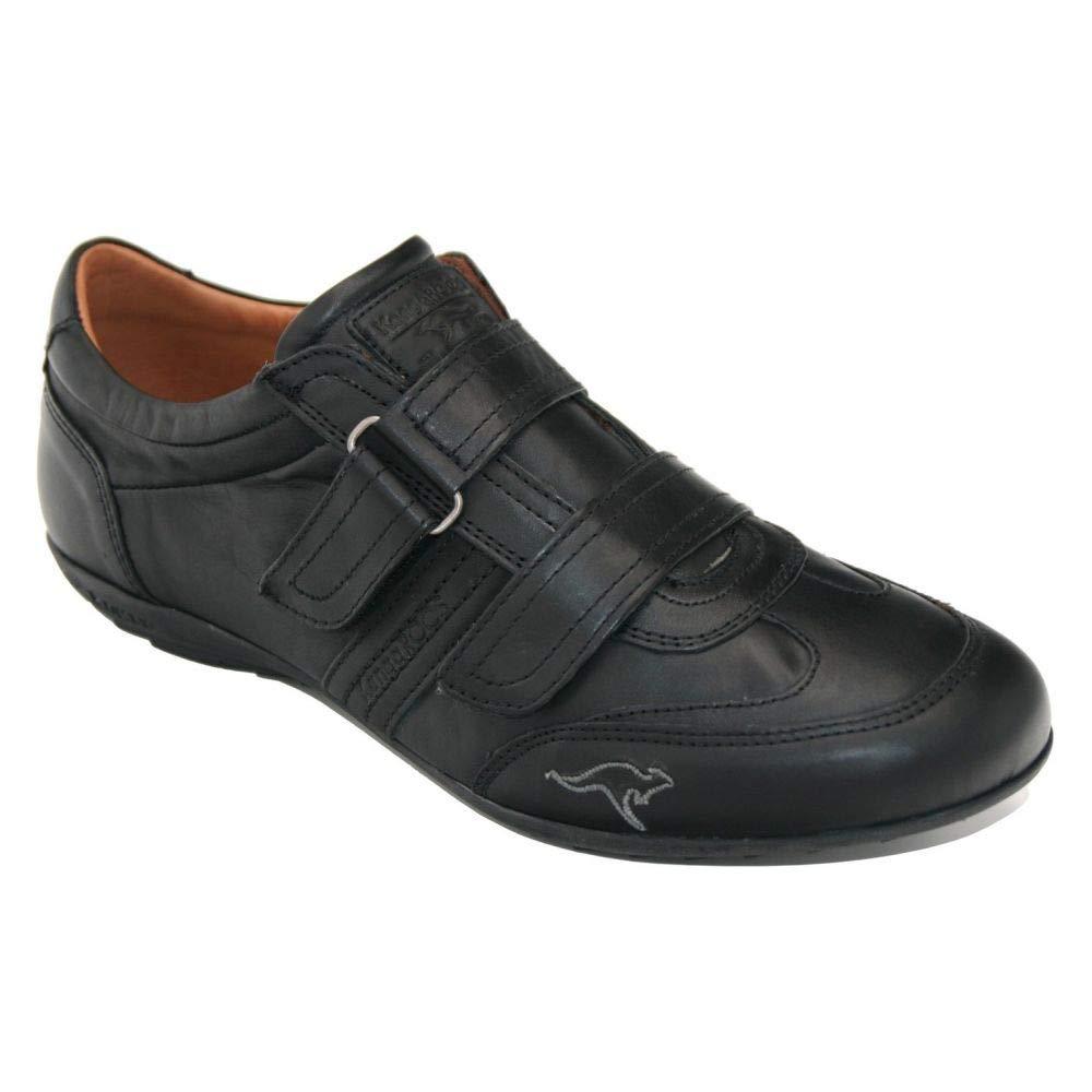 KangaROOS 9635 - deportivos Velcro piel Negro - 9635 46811d