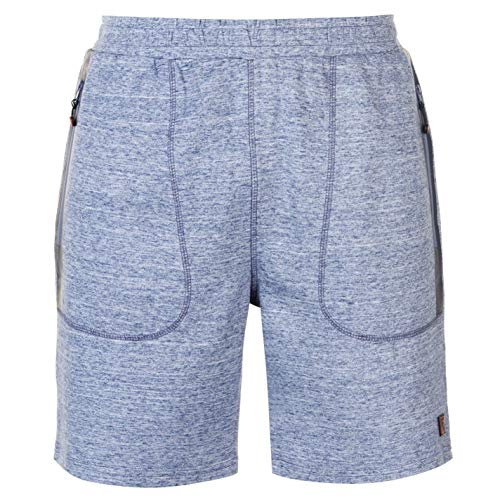 (Pierre Cardin Zip Detail Shorts Mens Light Blue Bottoms Short Pants Summerwear X-Large)