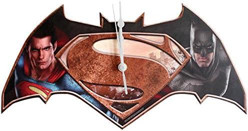 Westland Giftware 14.75 Batman Vs. Superman Wall Clock