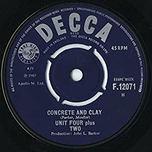 """Concrete And Clay - Unit Four Plus Two 7"""" 45"""