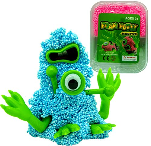 Diy Putty Monster Colour Toy Kit For Finger Hand And Grip Strength Stress Relief Theraputty Gift Work with toy fishes and real fishes! desertcart