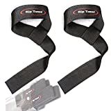 Rip Toned Lifting Wrist Straps (Pair) - Cotton - Neoprene Padded - For Weightlifting, Bodybuilding, Xfit, Strength Training, Powerlifting, MMA