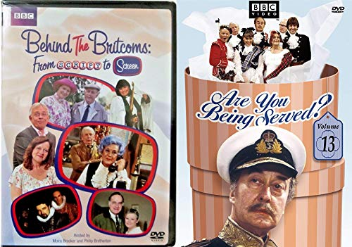 Attention Shoppers! Are you Being Served? DVD + Behind the Britcoms Script to Screen BBC British Comedies Television 2 Pack