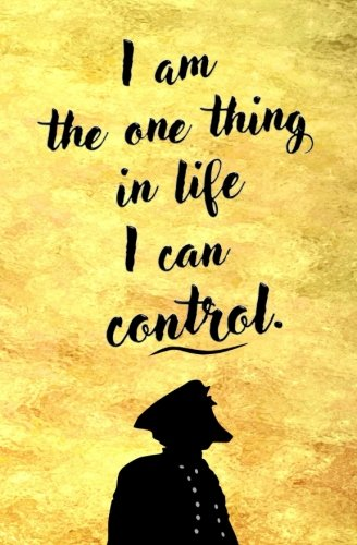 I am the One Thing in Life I Can Control: Blank Journal and Inspirational Gift