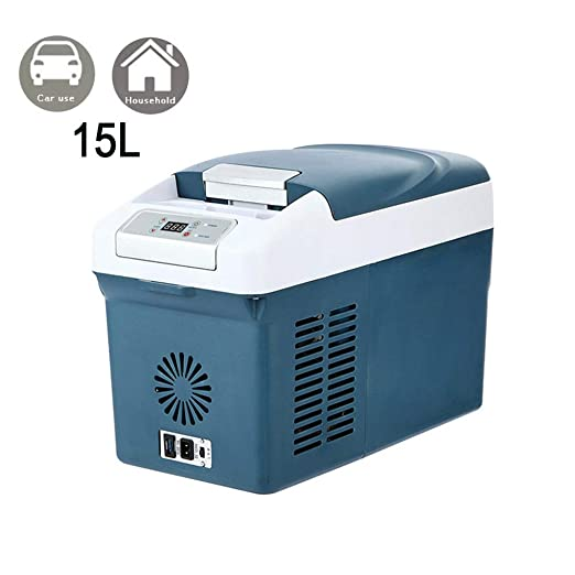Nevera portátil para coche eléctrica, minifrigorífico congelador ...