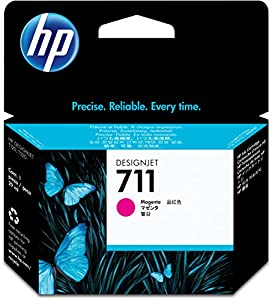 CZ131A 29-ml Magenta Ink Cartridge for HP Designjet T120 and HP Designjet T520 ePrinter series by hp