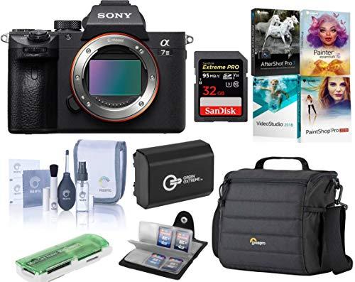 Sony Alpha a7 III 24MP UHD 4K Mirrorless Digital Camera + 32