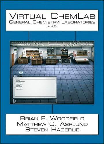 Virtual ChemLab General Chemistry Student Workbook CD V