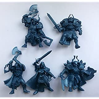 Undead Wariors 54 mm 1/32 - 5 Fantasy Figures Tehnolog Fantasy Battles Russian Toy Soldiers
