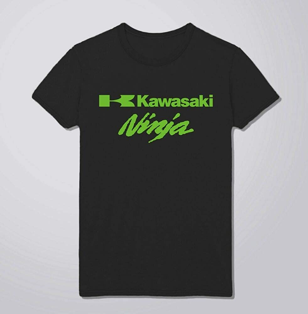 Kawasaki Ninja Moto GP Biker Badass Rock Music Kids & Adults Unisex tee AP07: Amazon.es: Ropa y accesorios