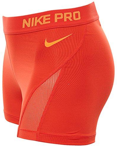 Nike NIKE PRO HYPERCOOL 3 SHORT - Kurze Hosen Rot - M - Damen
