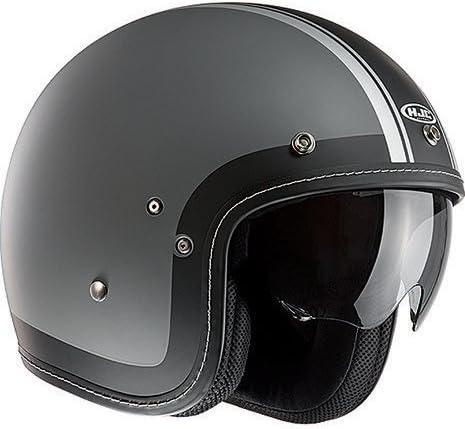 Hjc Fg 70s Heritage Open Face Motorrad Helm Schwarz Bekleidung